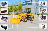 Carregador do pagamento da pá do equipamento de construção da alta qualidade mini com 1000kg