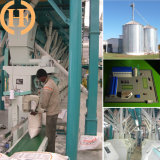 50t/24h Steel Structure Flour Milling Machine, Stainless Steel Pipes
