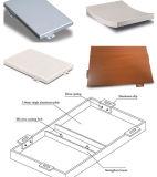 Revêtement matériel de mur de revêtement en aluminium d'ingénierie