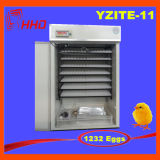 Incubatrice automatica contrassegnata Ew-1232 dell'uovo del pollo del Ce delle uova di Hhd 1232