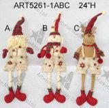 El muñeco de nieve del país diseñó con el árbol especial en Body-3asst.