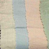 衣服の服の織物のスカートのための染められたジャカードリネン綿織物
