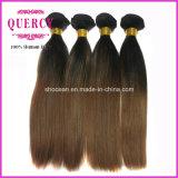 """Capelli 8 di Quercy """" - 32 """" tessuto brasiliano dei capelli dell'onda del corpo di colore di Omber di colore dei capelli 3 di Remy del Virgin"""