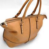 Heiße Verkaufs-Handtasche der hellbraunen Frauen mit Stap