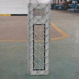 Guichet en aluminium de bonne qualité avec l'acier inoxydable Buglar K12005 net