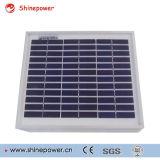 mini módulo solar polivinílico 5W/el panel solar para el uso ligero solar