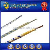 cable eléctrico aislado cinta de la fibra de vidrio del níquel PTFE de 600V 250c UL5127