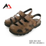 Sandália Shoes Leather Casual Fashion Comfortable Footwear para Men (AK1882)