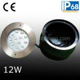 Indicatore luminoso subacqueo IP68 (JP948121) della piscina dell'acciaio inossidabile 12W