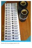 Papier und Kurbelgehäuse-Belüftung gedruckte Aufkleber
