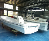 Venda por atacado 22 Feet Fiberglass Outdoor Sport Open Boat para venda