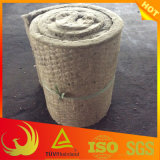 Chicken Wire Mesh를 가진 열 Insulation Material Rockwoll Blanket