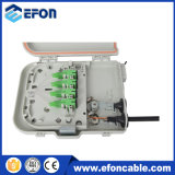 FTTH Distribution Box Terminal Box 8 Ports con Splitter Connector Sc/APC