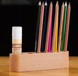 Base en bois d'avoirs de crayon lecteur de Polyporous