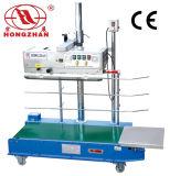Dispositivo continuo del equipo del sellado caliente de la venda del sellador de la bolsa de plástico de la película de la máquina automática del lacre con la impresión de la rueda de la tinta sólida