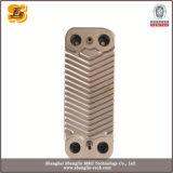 Cambiador de calor cubierto con bronce 316L inoxidable de la placa del acero