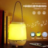 De draagbare LEIDENE van de Spreker Bluetooth Lamp van de Muziek