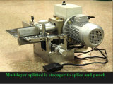 Máquina que parte de la capa de Holo para la banda transportadora de goma del PVC de la PU