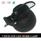 Nueva 7 lámpara del trabajo de la pulgada 45W LED con la viga de la inundación en 6000k para el jeep, barco, SUV (HA-R45W)