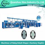 機械(HY800-SV)を作る完全サーボ高速生理用ナプキン