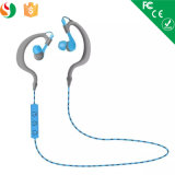 Cuffia stereo di Bluetooth del nuovo di sport 2016 dell'orecchio dell'amo del trasduttore auricolare commercio all'ingrosso senza fili della cuffia avricolare