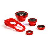 4 en 1 lente óptica para el teléfono/la tablilla elegantes con el gancho de leva