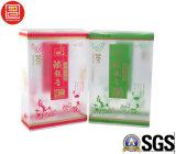 Impression offset de boîte en plastique de pp avec l'estampage d'or, cadre en plastique de pp pour le thé, boîte-cadeau de empaquetage à extrémité élevé de Plstic