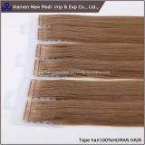 Extensões brasileiras do cabelo humano da fita do cabelo humano