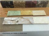 Placa de contorno plástica na borda das paredes