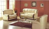 Sofá casero moderno de los muebles fijado con cuero italiano