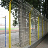 PVC Coating Security Metal Fencing mit Highquality