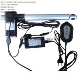 330n=33kg=72lbs Load 8mm/Sec=0.32inch/Sec Speed 100mm=4inch Stroke 24V Small Linear Actuator Model Fy011b