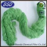 Rimorchio altamente elastico della fibra di graffetta di poliestere PSF per i filati di filatura