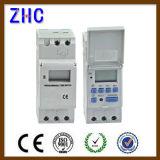 LCD 디스플레이 디지털 DIN 가로장 Ahc15A 250V 지적인 타이머