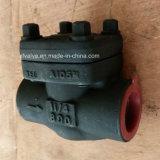 Válvula de verificación de acero forjada 800lb/1500lb/2500lb del NPT de la cuerda de rosca API602