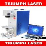 Máquina de grabado portable del precio/laser de la máquina de la marca del laser de la fibra de la mesa 10With20With30W para el triunfo del anillo del metal