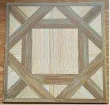 Matériaux de construction 60X60, tuiles rustiques de porcelaine, tuile en céramique de décoration de plancher, tuile en bois de porcelaine avec la surface de Matt