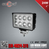 4 인치 24W 크리 말 LED Work Light (SM-4024-SFB)