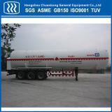 低温学の半真空タンク吸引のタンク車のトレーラー