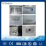 Congelatore aperto della cassa del portello della parte superiore di Dukers 150L singolo