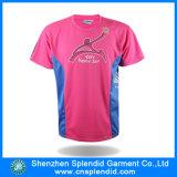 T-shirt van de Sport van Dri van de Douane van de Druk van de T-shirt van mensen de Geschikte