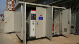 sottostazione mobile elettrica a tre fasi esterna di 33kv 630kVA