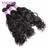 Capelli brasiliani naturali del Virgin di estensione dei capelli umani di 100%
