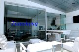 Portelli di piegatura di vetro di Frameless, portelli interni di Frameless, portelli di vetro