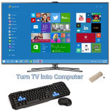 Slank Intel Baytrail Z3735f/2g RAM/32g 64G Storage/USB, WiFi, Bluebooth/Option Win8.1 van PC Mini