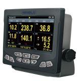 Monitor de la navegación para el metro del viento