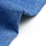 Tela viscosa da sarja de Nimes do Spandex do algodão elevado do estiramento
