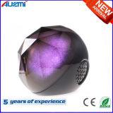Haut-parleur sans fil de boule de cristal de haut-parleur de DEL Bluetooth avec la lumière colorée