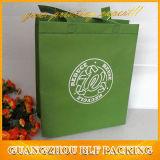 Sac à provisions non-tissé pour l'impression d'écran en soie de cadeau (BLF-NW016)
