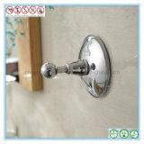 Chromierter Badezimmer-Befestigungsteil-Absaugung-Cup-Mantel-Haken für Alltagsleben